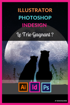 Illustrator Photoshop Indesign, le trio gagnant ?